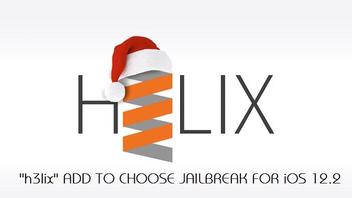 h3lix-jailbreak iOS 12.2